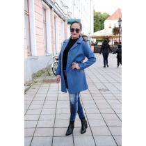 Lühike mantel Dana, sinine