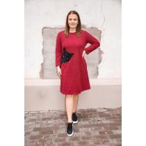 Kleit Kiisu, punane