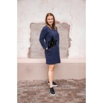 Kleit Kiisu, sinine